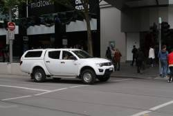 Another confused ute drive, this time with Victorian plates and headed south