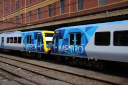 Livery details on the end of the M cars