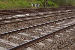 Track renewal with low profile concrete sleepers at Hawksburn