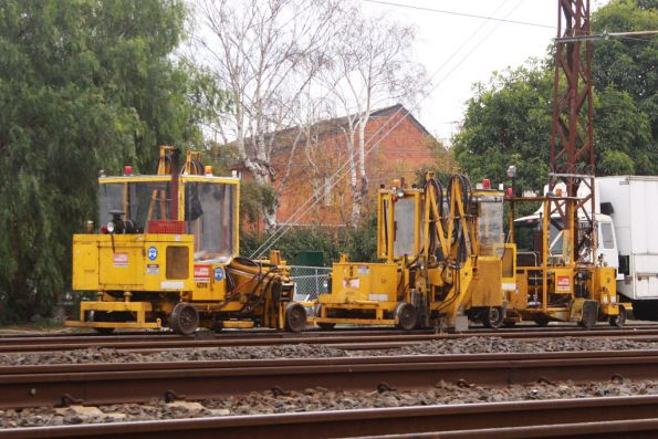 Tie inserters stabled at Caulfield