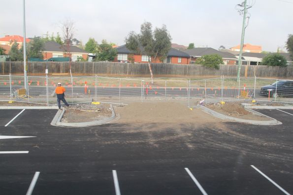 Car park extension underway at Keilor Plain station