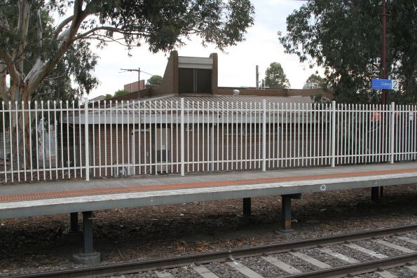 Way and works depot located behind Coburg station platform 2