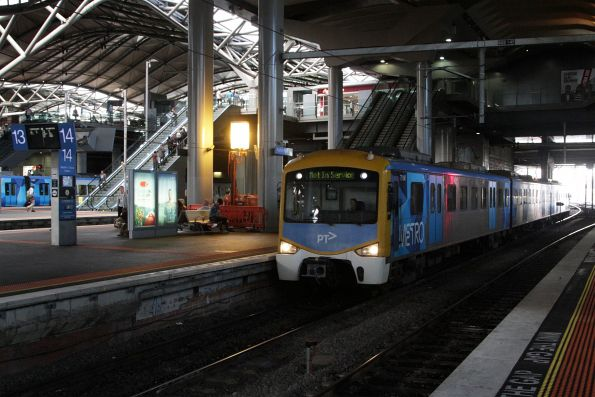 Metro Trains Melbourne training