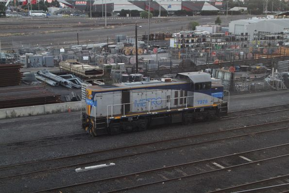 T376 stabled at the Wagon Storage Yard