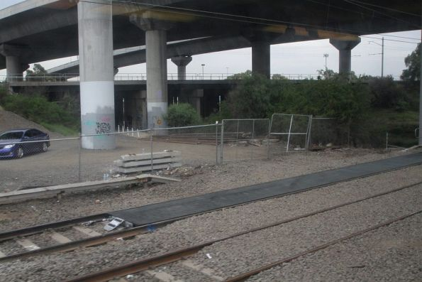 New hi-rail access pad replaces gravel at North Melbourne Junction