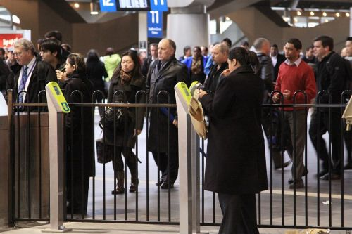 Who cares if the crowds are still there: management wants the barriers closed!