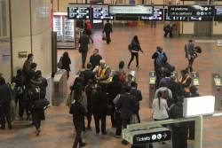 Every myki gate at Flagstaff station dead for evening peak