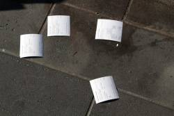 Still more discarded Myki receipts, this time down at Docklands