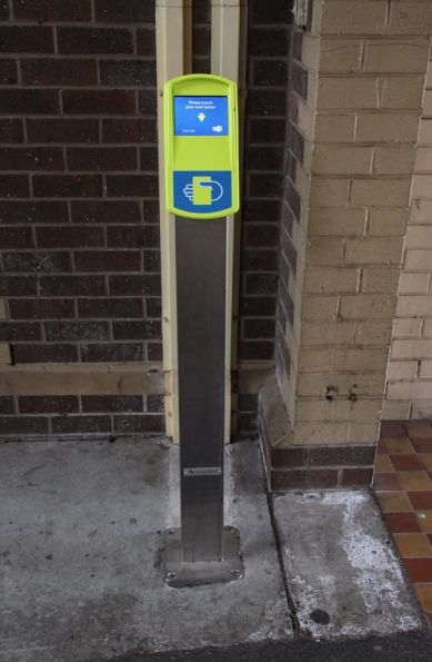 Fare Payment Device (FPD) at Geelong