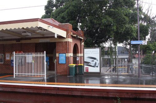 'Enhancements' to the station entrance at Newmarket - but they missed the obvious fix!