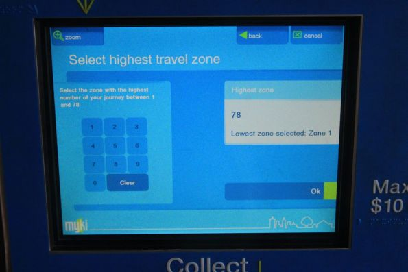 Want to by a Myki Pass for zone 78? It is possible...