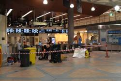 Replacing Metcard barriers at Flagstaff with permanent Myki gates