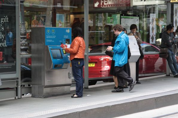 Myki Mates still working at CBD tram stops