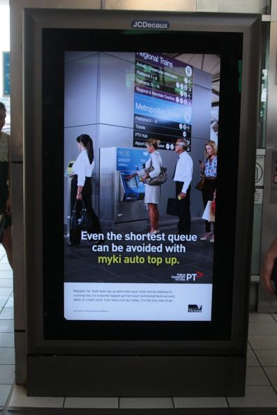 Myki admits defeat with a 'Even the shortest queue is avoided with myki auto top up' campaign