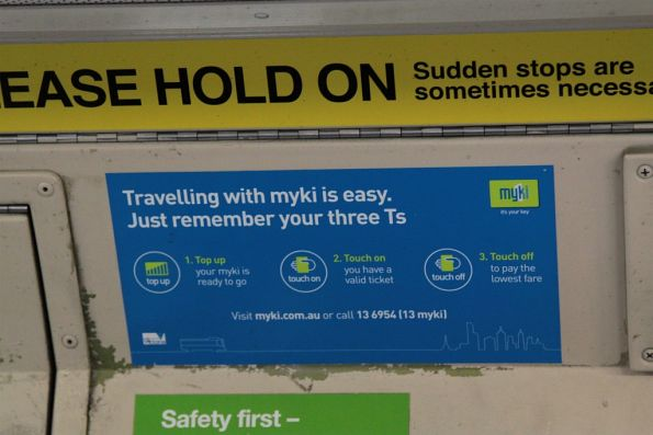 how to use myki card on trams