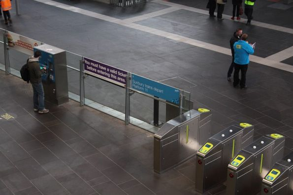 Myki mates back on the ground, this time at Southern Cross for V/Line passengers