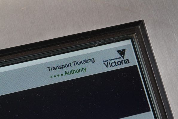The 'Transport Ticketing Authority' became part of Public Transport Victoria on 1 January 2013