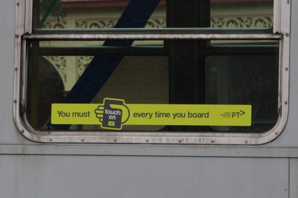 New PTV fare evasion campaign ' You must touch on every time you board'