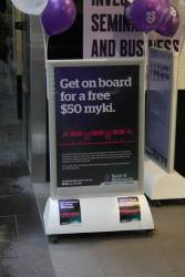 Bank of Melbourne promotion - sign up for a new bank account, get a Myki with $50 on it