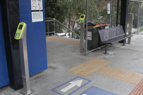 Additional myki readers added to the narrow single exit from Laburnum platform 2