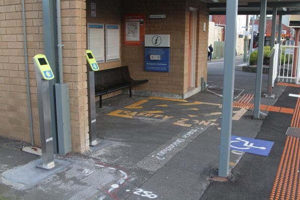 Additional myki readers added to the platform 3 exit at Bentleigh station