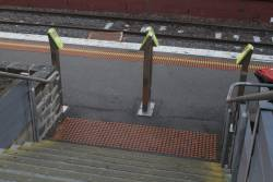 Additional station access opened at the middle of Prahran platform 2