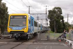 XTrapolis 134M leads the set on test at Croxton station