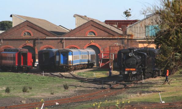 Newport Workshops: Steamrail and 707 Operations