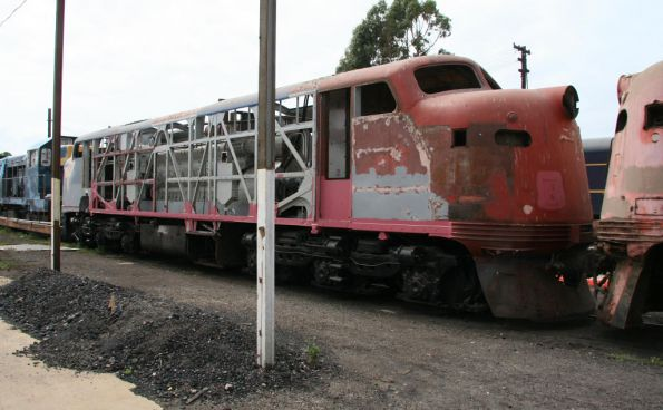 B72 under restoration by Steamrail