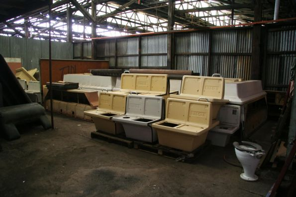 Fibreglass Hitachi seats
