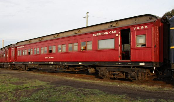 Sleeping car Coliban