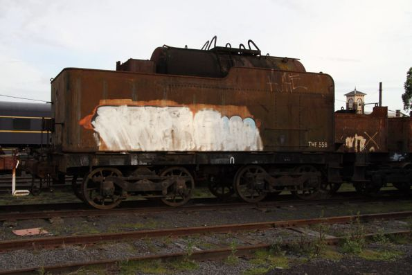 Tank wagon TWF558, former steam loco tender