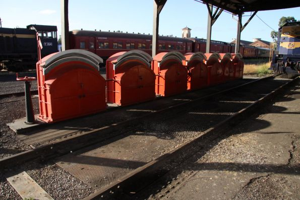 Weighbridge outside the Steamrail depot