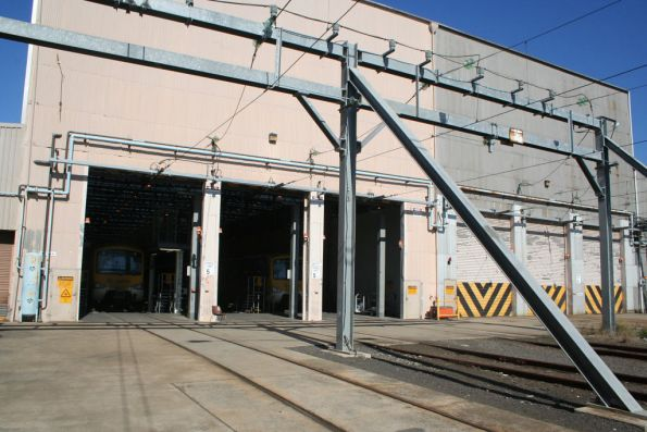 Siemens facility at Newport Workshops