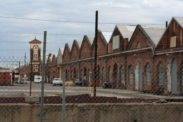 West Block of Newport Workshops