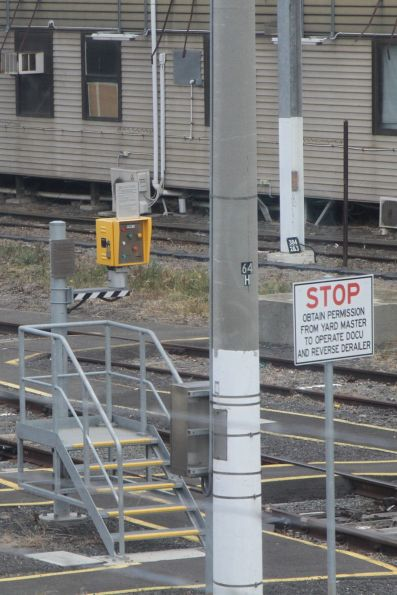 Driver Operated Control Unit (DOCU) for suburban trains entering the stabling yard