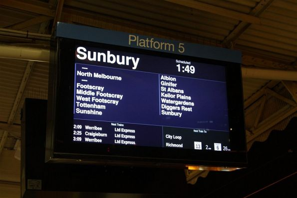 Night Network means the misleading 'limited express' Sunbury line trains have returned