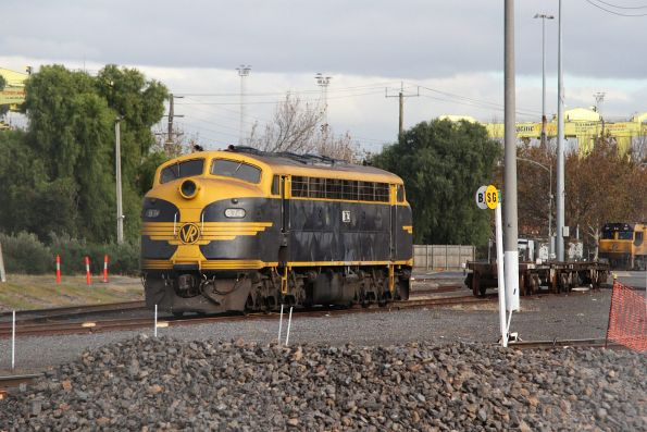 B74 stabled at the city end of North Dynon