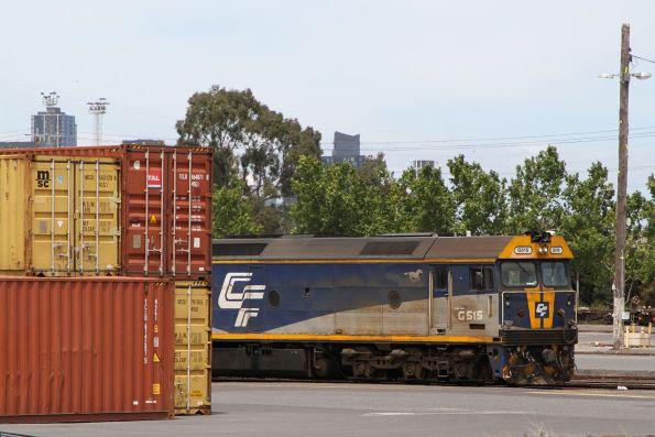 G515 stabled at North Dynon
