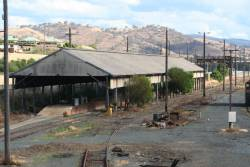 Transhipping shed at Albury, now disconnected