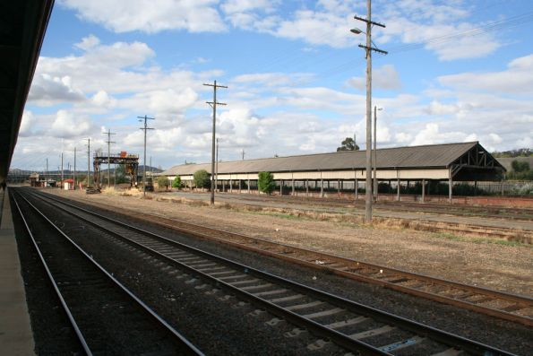 Transhipping shed at Albury