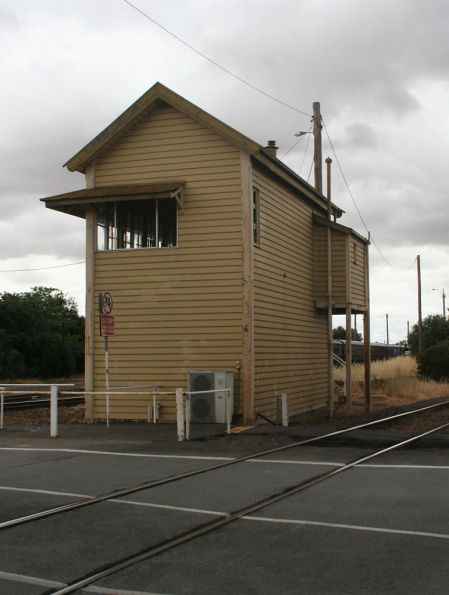 Southern side of Benalla 'A' box
