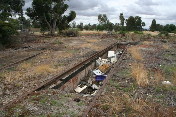 Inspection pits around the Benalla tuirntable