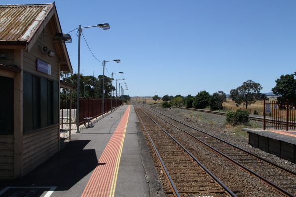 Platform 2 at Donnybrook station extended so that an entire 6-car long train will fit
