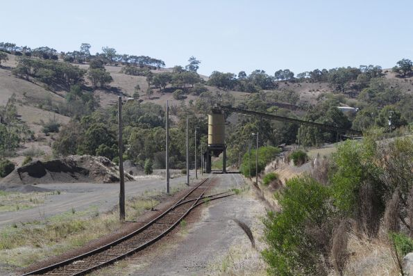 Quarry siding at Kilmore East