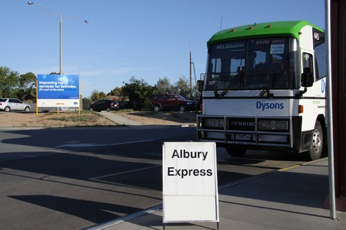 'Improving rail services for Seymour' - by running buses for two years, one more year than is really required!