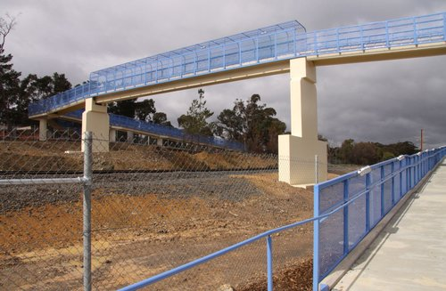 New $4.2 million footbridge at Wandong