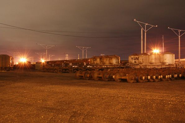 North Geelong Yard by night