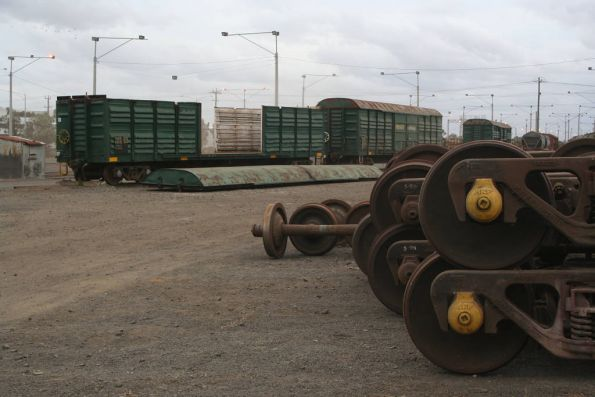 VLEX wagons to be scrapped at North Geelong Yard