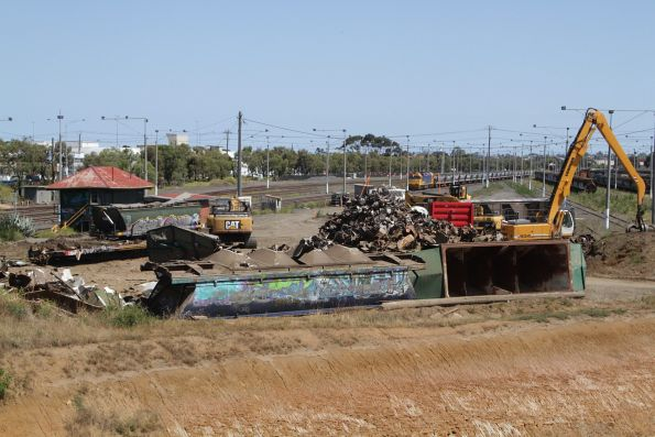 North Geelong wagon scrapping